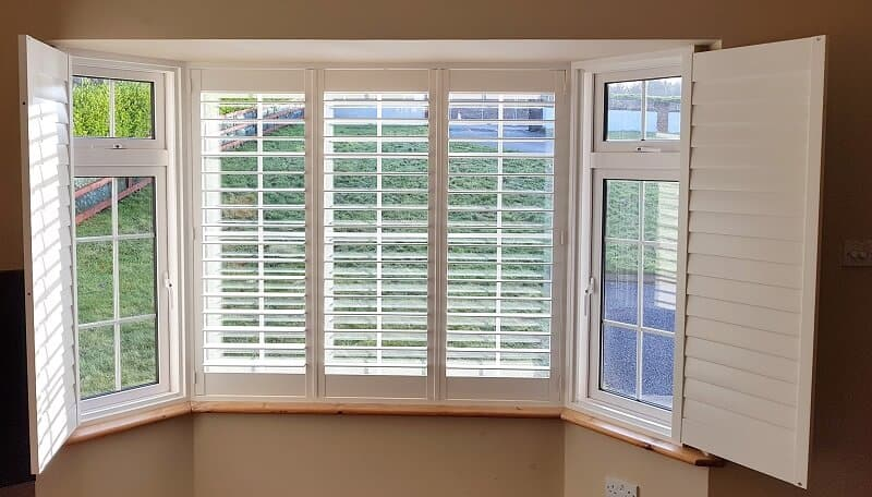 Pleated blinds and Shutters fitted in Kilkenny