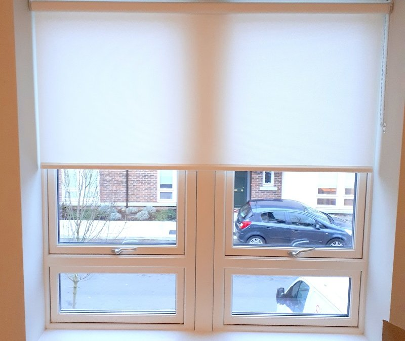 Roller blinds fitted in Castleknock
