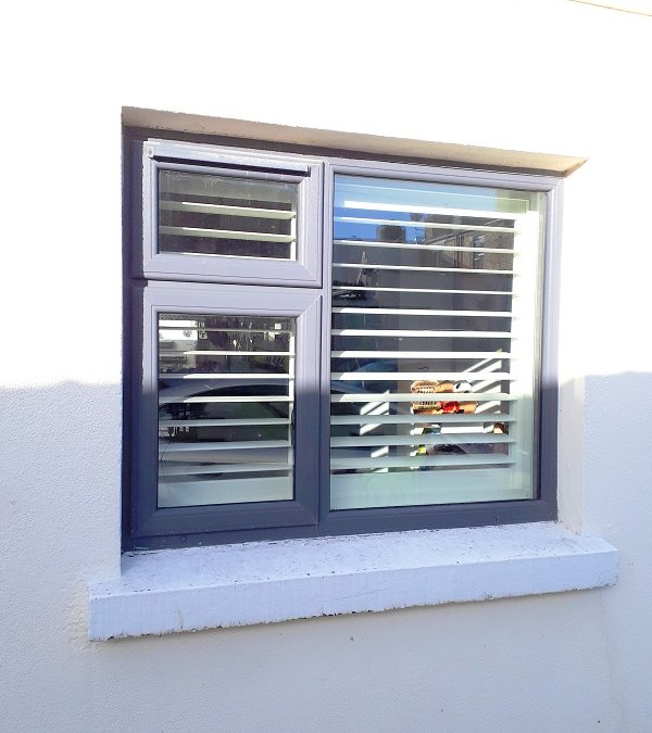 Wooden Plantation Shutters fitted in Dun Laoighre, Co Dublin