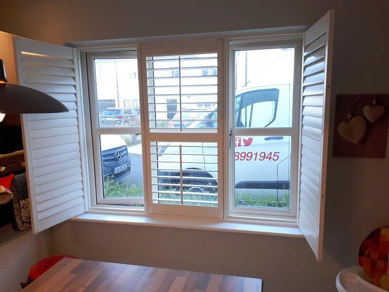 Plantation Shutters fitted in Dundrum, Dublin South