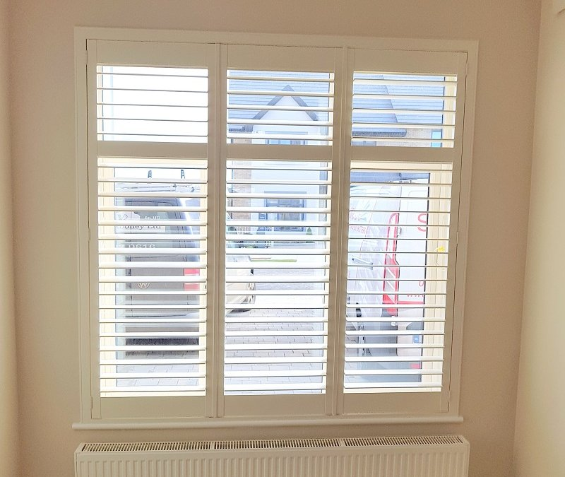 Plantation shutters fitted Greystones, Co Wicklow