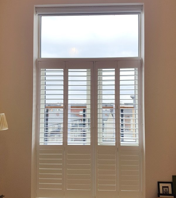 Cafe Style Shutters installed in Baldoyle, Dublin 13