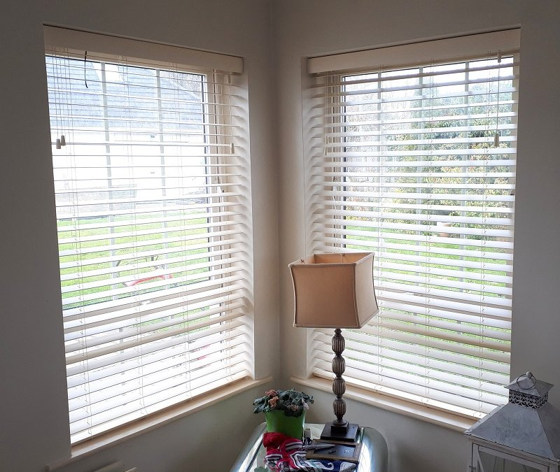 White Venetian Blinds installed in Ratoath, County Meath