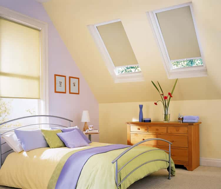 Blinds for Velux type of Windows
