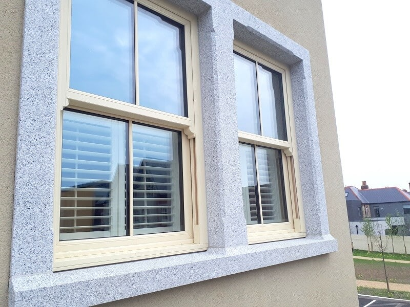 Full Height and Café Style Shutters fitted in Terenure, Dublin 6