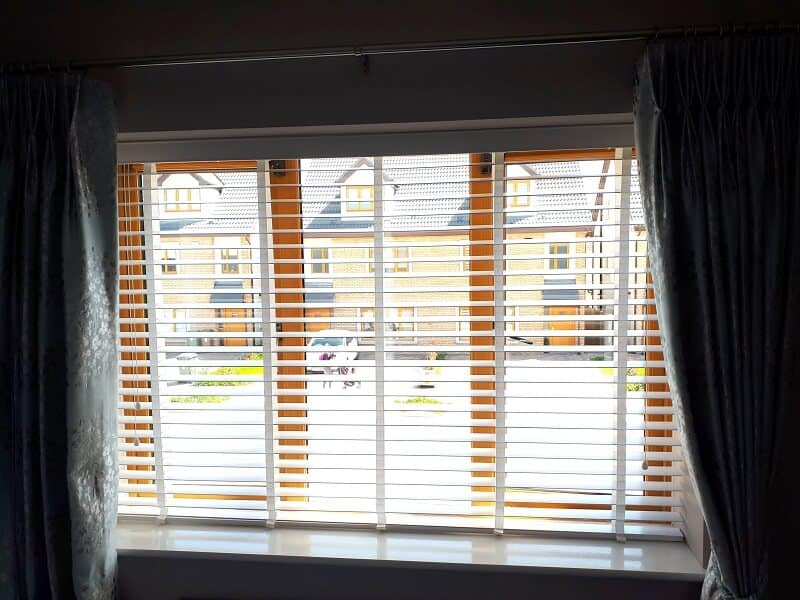 White Venetian Blinds with Tapes in Rathcoole, Dublin 24