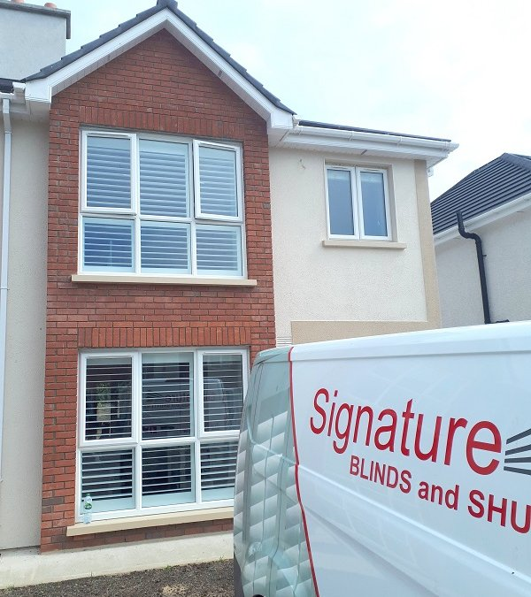 Plantation Shutters installed in Arklow, County Wicklow