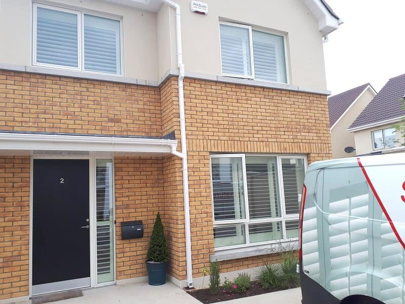 White Plantation Shutters fitted in Diswellstown, Castleknock, Dublin 15