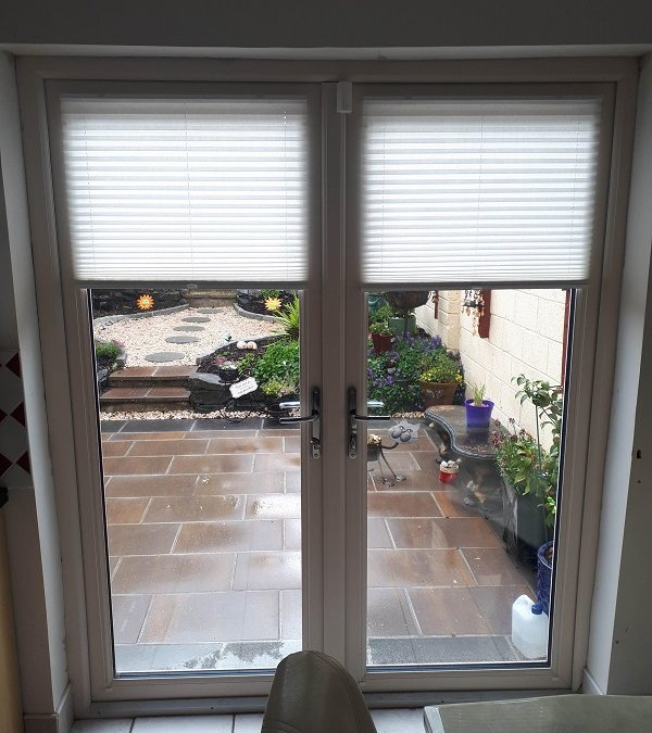 Roller Blind and Pleated Blinds fitted in Clondalkin, Dublin 24