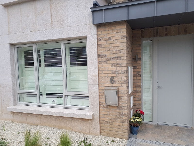 Silk White Plantation Shutters installed in Greystones, Co Wicklow