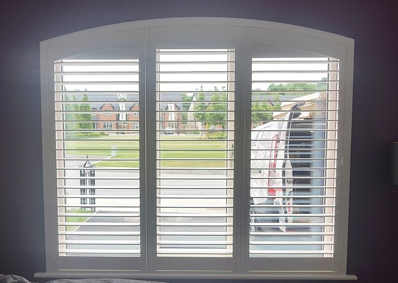 Wooden, PVC and MDF plantation shutters fitted in Dundalk, Co Louth.
