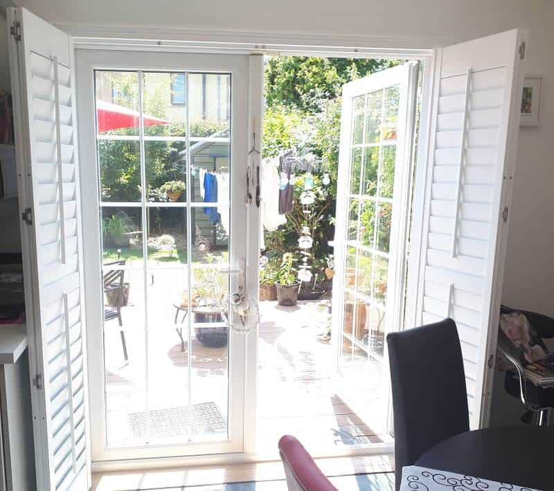 White Plantation Shutters We Fitted In Baldoyle, Co Dublin