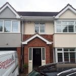 2 bay windows fitted with Plantation Shutters, Carpenterstown, D15