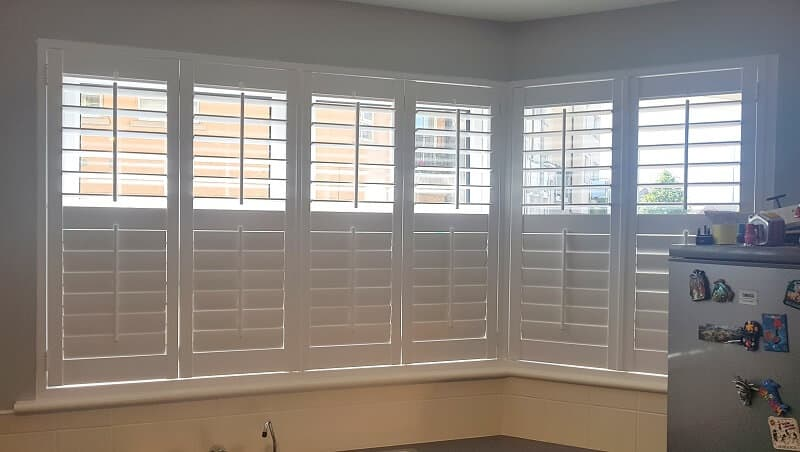 Plantation Shutters fitted on different sized windows and patio doors in Hayworth Terrace, Ongar, Dublin 15