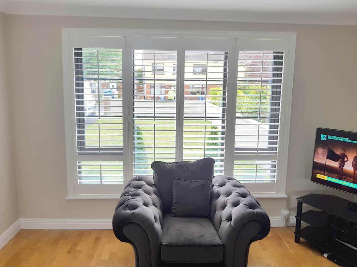 Plantation Shutters Our Fitter Installed In Ashbourne Co Meath
