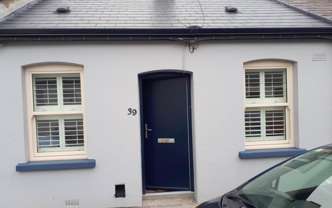 Tier on tier shutters we have installed in Stoneybatter, County Dublin