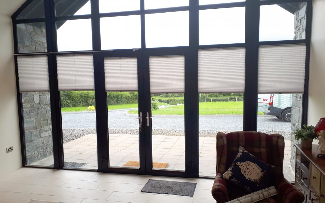Venetian and Pleated Blinds installed in Dundalk County Louth