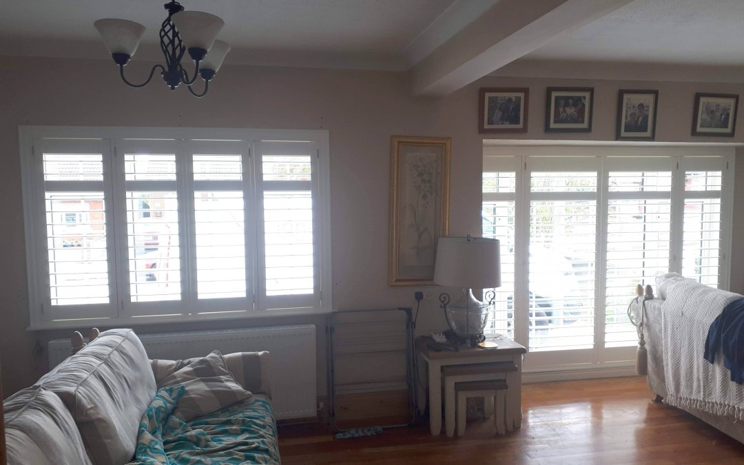 Plantation shutters fitted in Swords, Co Dublin.