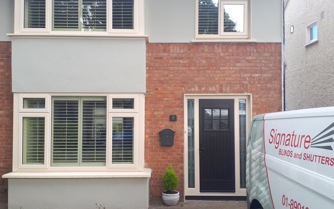 Shutters and Roller Blinds installed in Carpenterstown, Dublin 15