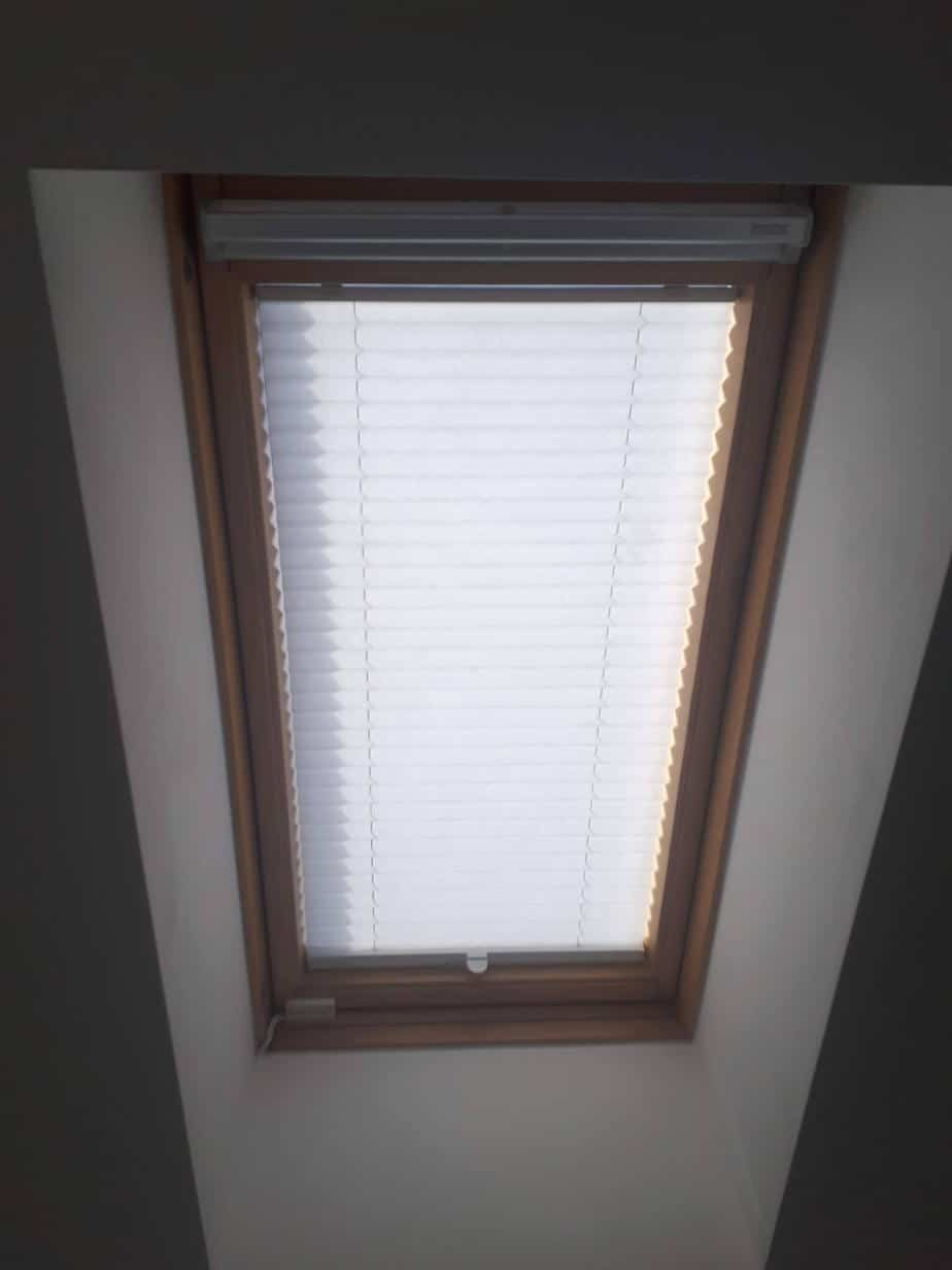 Pleated Blinds And Velux Blinds Installed In Ashtown