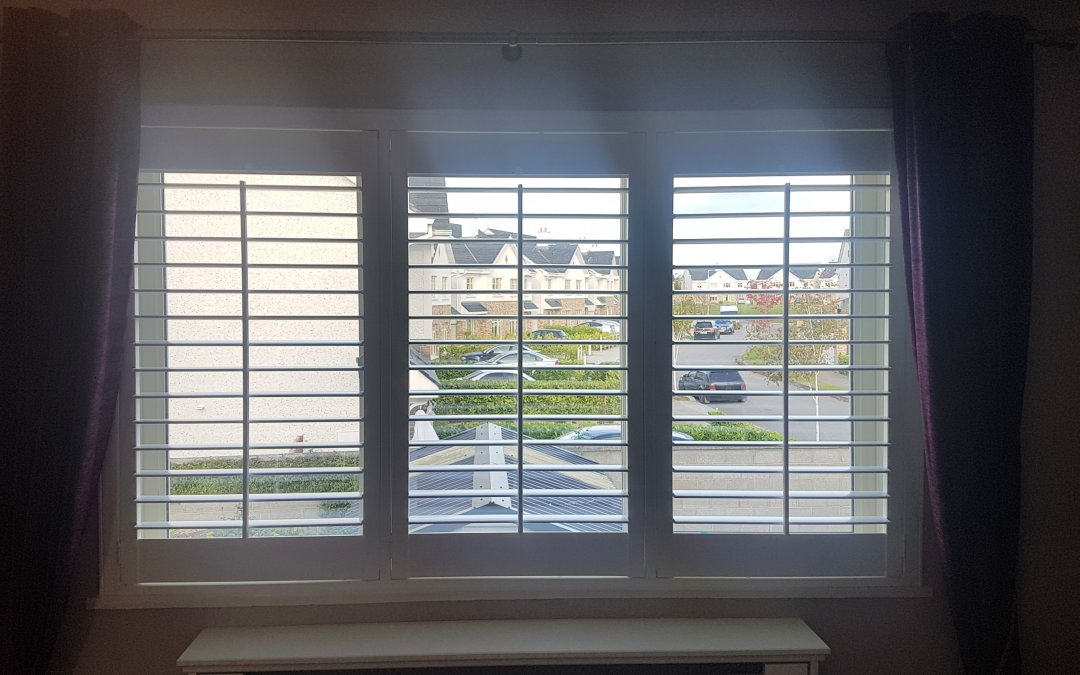 Plantation Shutters installed in Monasterevin, Kildare.