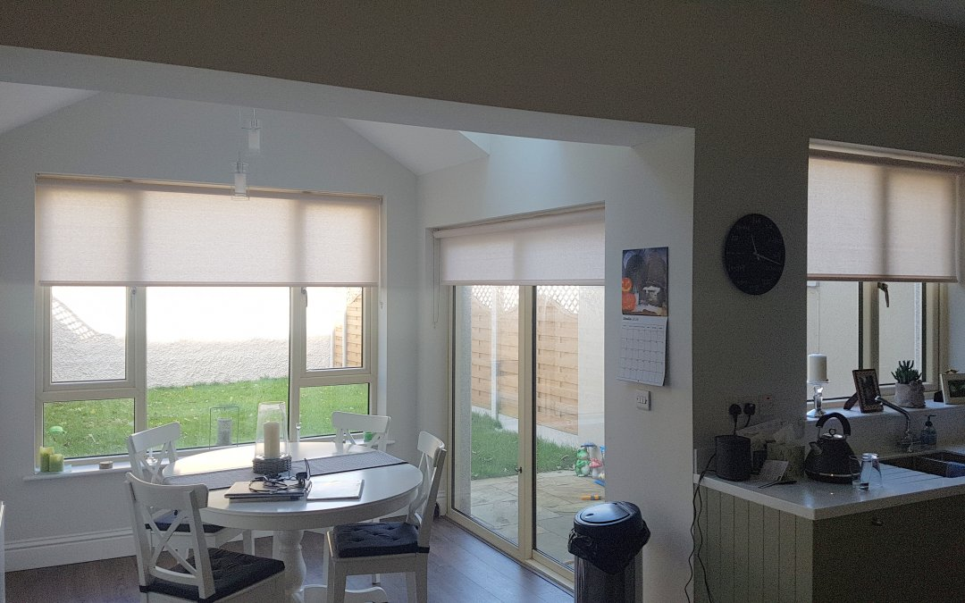 Roller Blinds installed in Terenure, Dublin 6