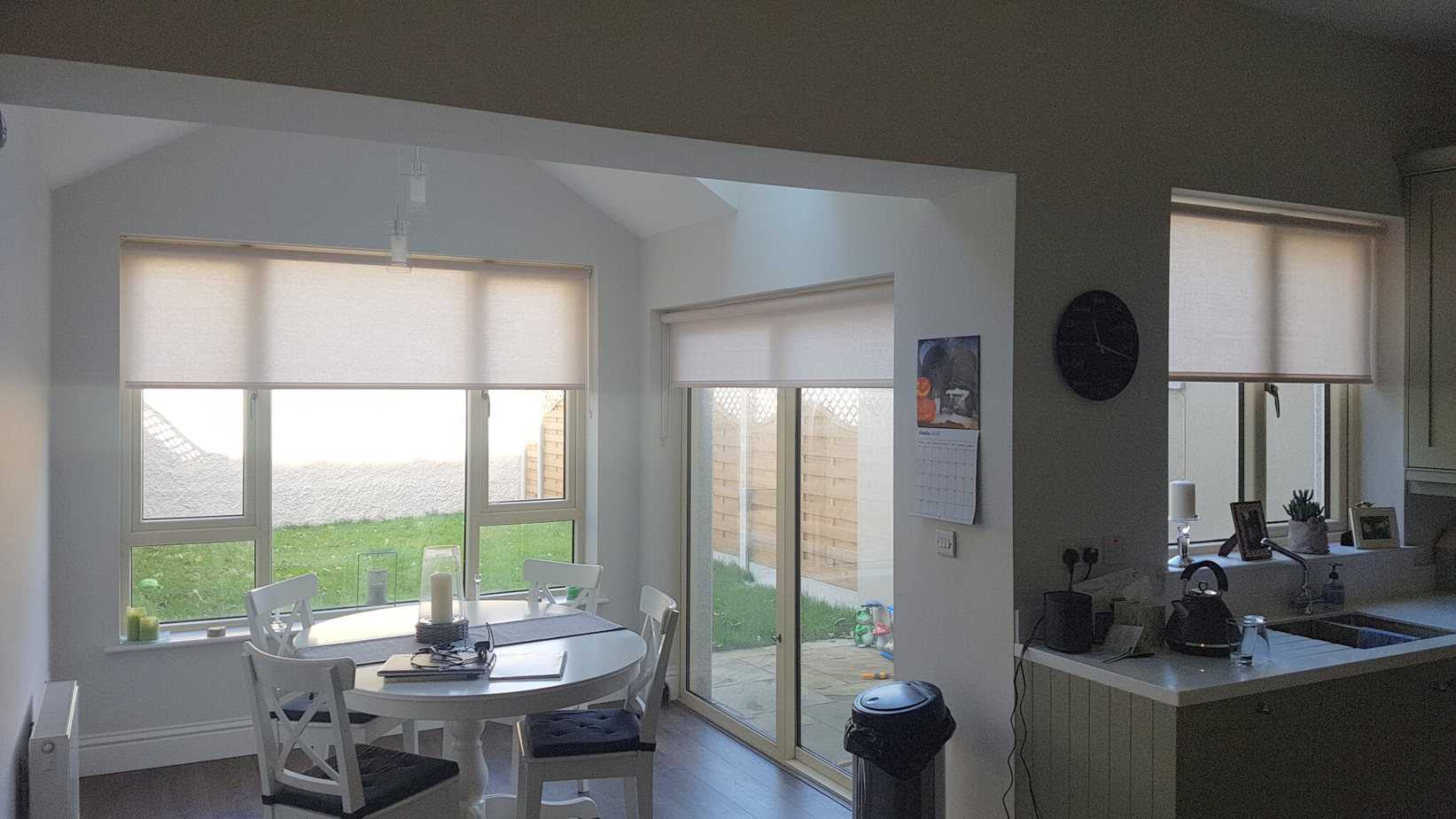 Roller Blinds Installed In Terenure Dublin 6 Signature Blinds And