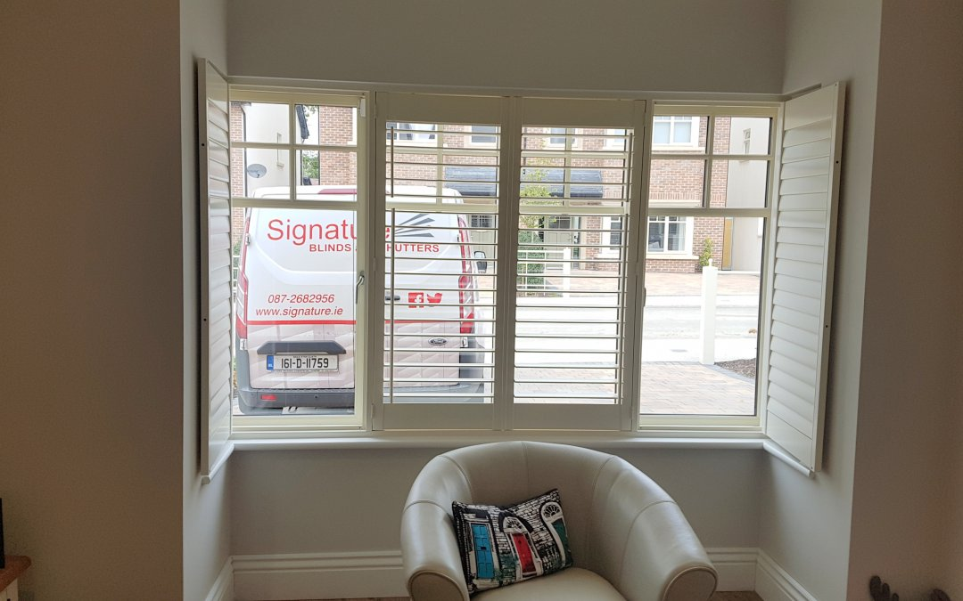 Plantation shutters installed in Naas, Co Kildare