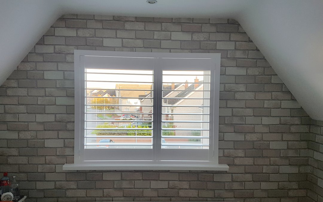 Plantation Shutters installed in Charlestown, County Dublin