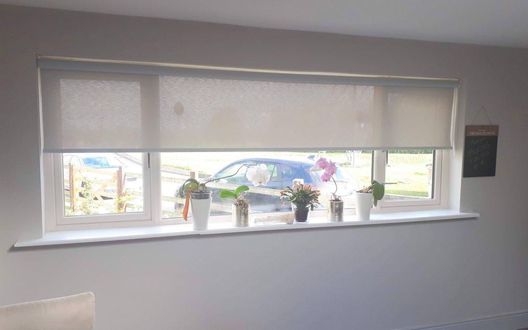 Roller and Pleated blinds installed in Garristown, Dublin