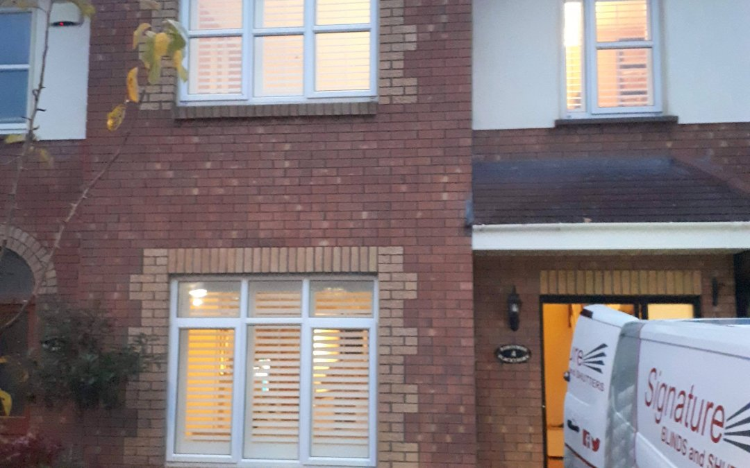 Plantation Shutters installed in Swords, County Dublin