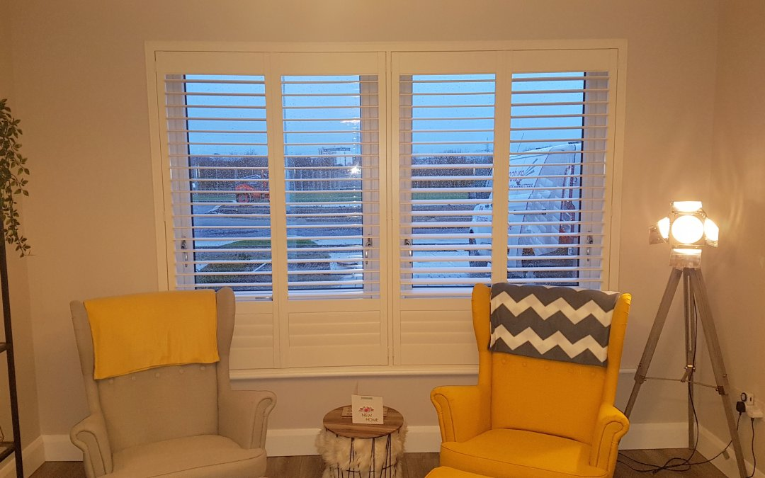 Plantation shutters installed in Hollywoodrath, Dublin 15
