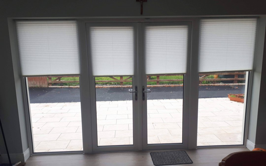 Pleated Blinds Installed in Ratoath, Co Meath