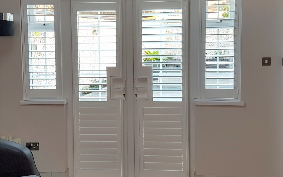 Plantation Shutters installed in Woodvale, Clonsilla