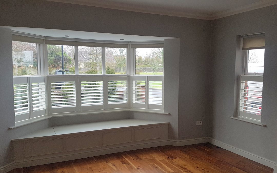 Café Style shutters fitted in Naas, Kildare