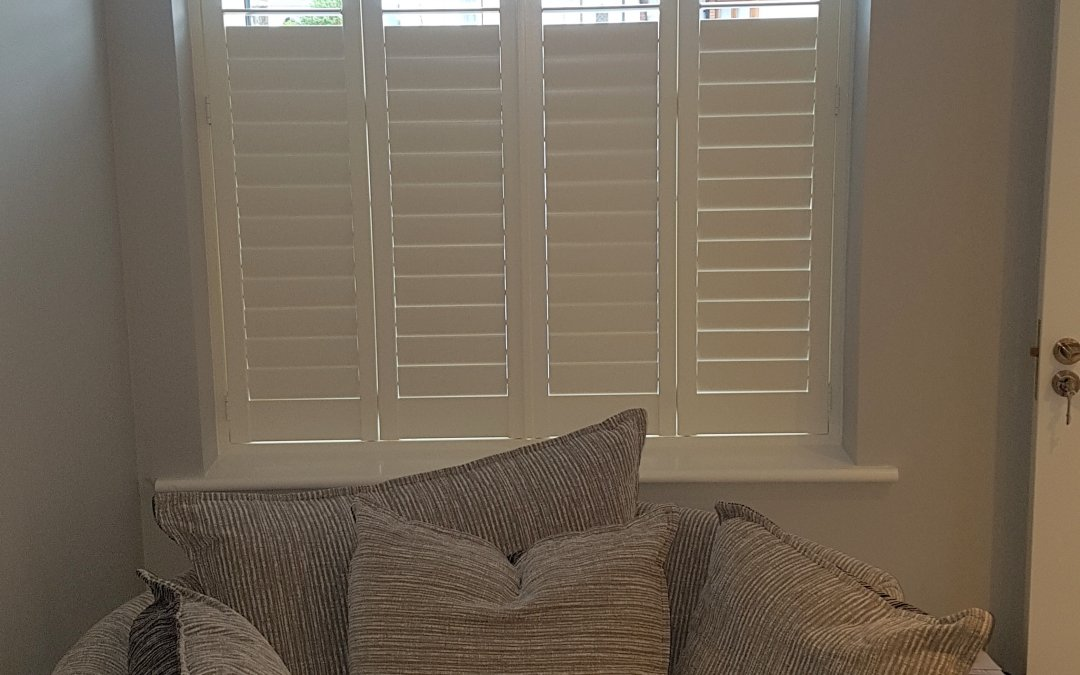 Plantation Shutters fitted in Coolock, County Dublin.