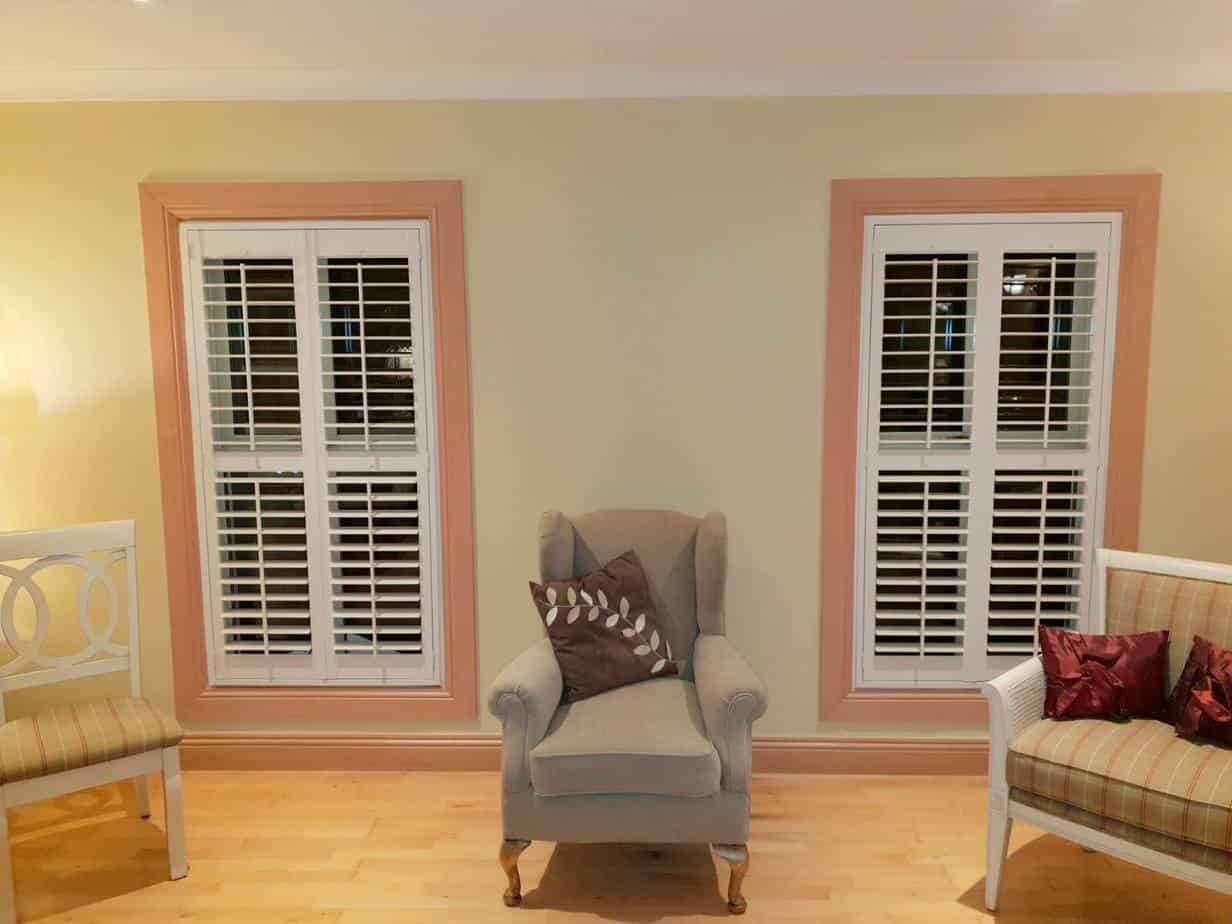 Exterior: Plantation Shutters Installed In Dunboyne, Co Meath