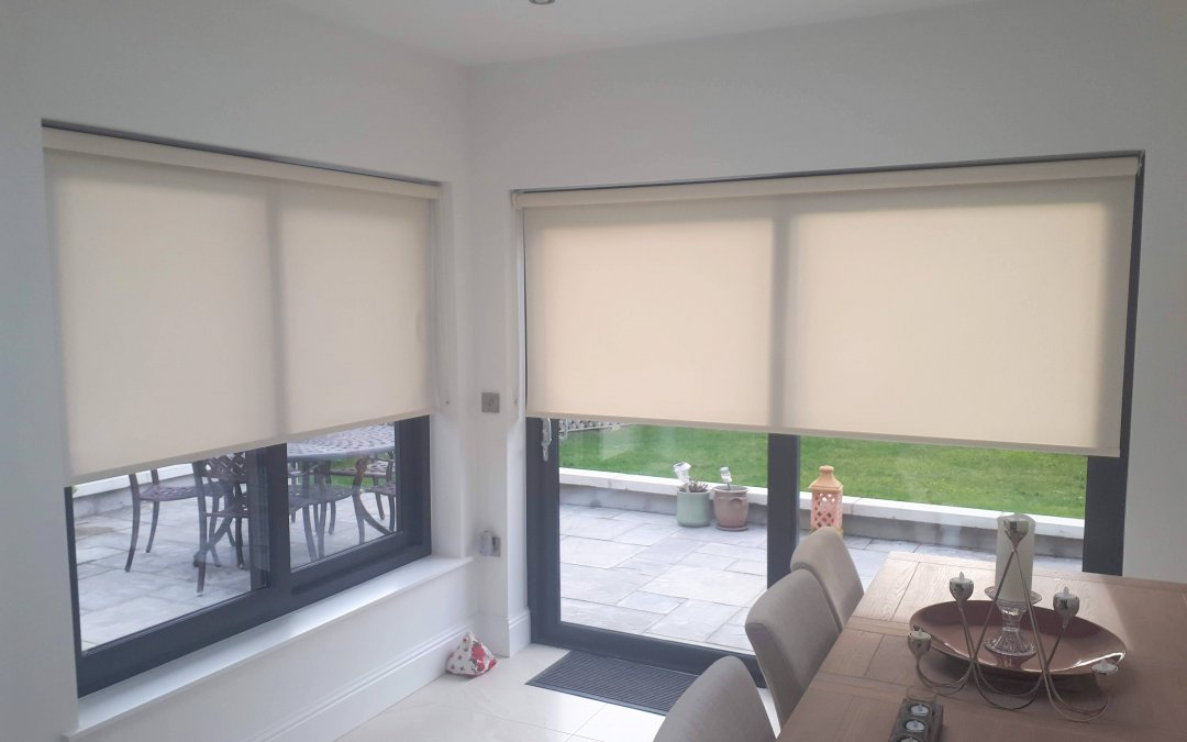 Roller blinds installed in Dundrum, Co Dublin