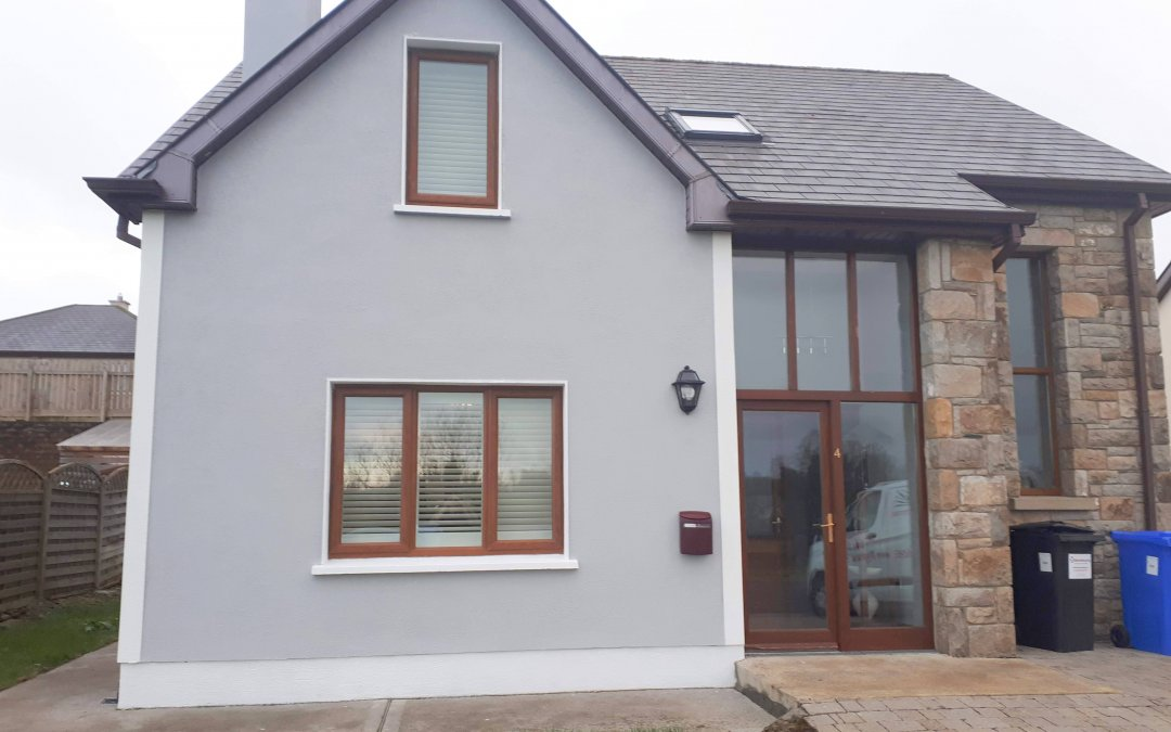 Plantation Shutters fitted in Dromod, Co Leitrim.