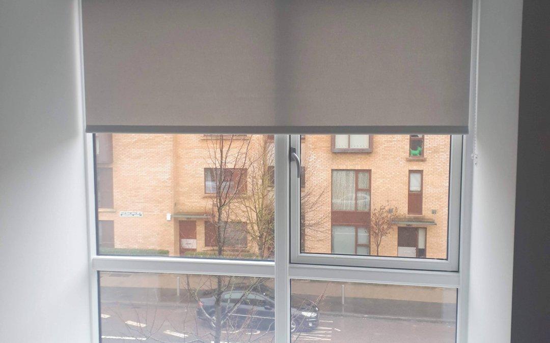 Roller blinds installed in Lucan, Co Dublin