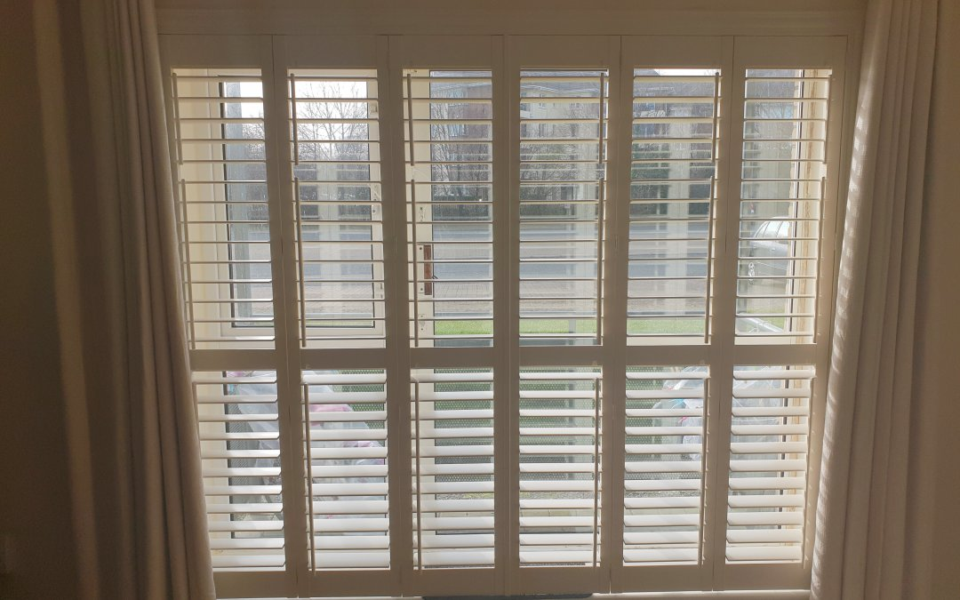 Plantation Shutters fitted in Westend Village, Blanchardstown, Co Dublin