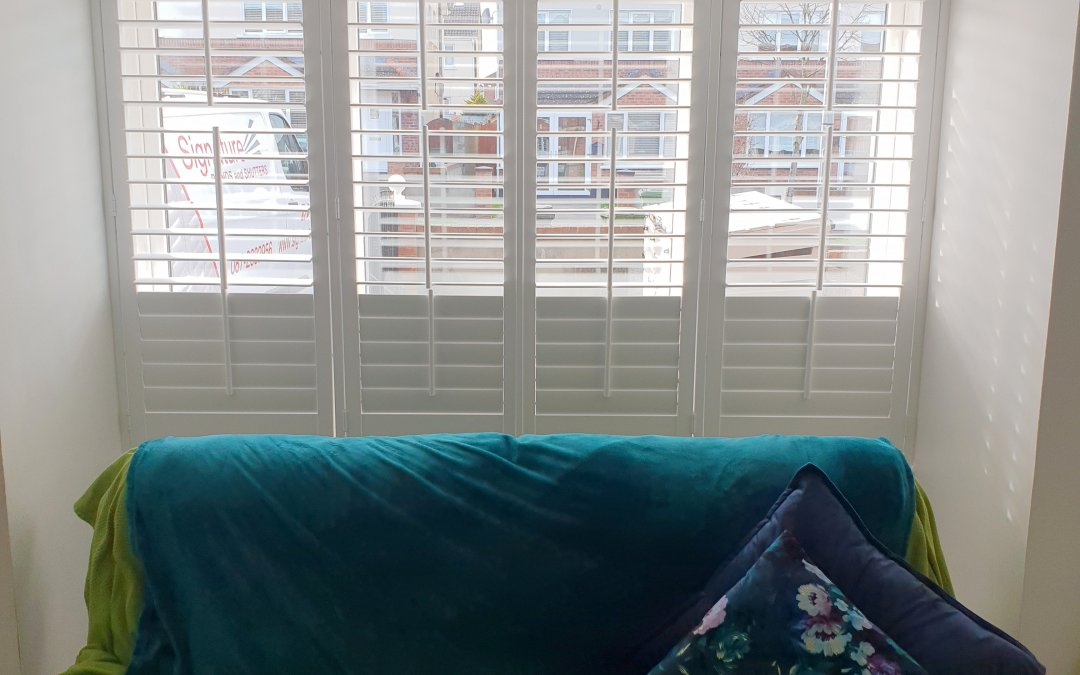 Plantation Shutters installed in Castleknock, Dublin 15.