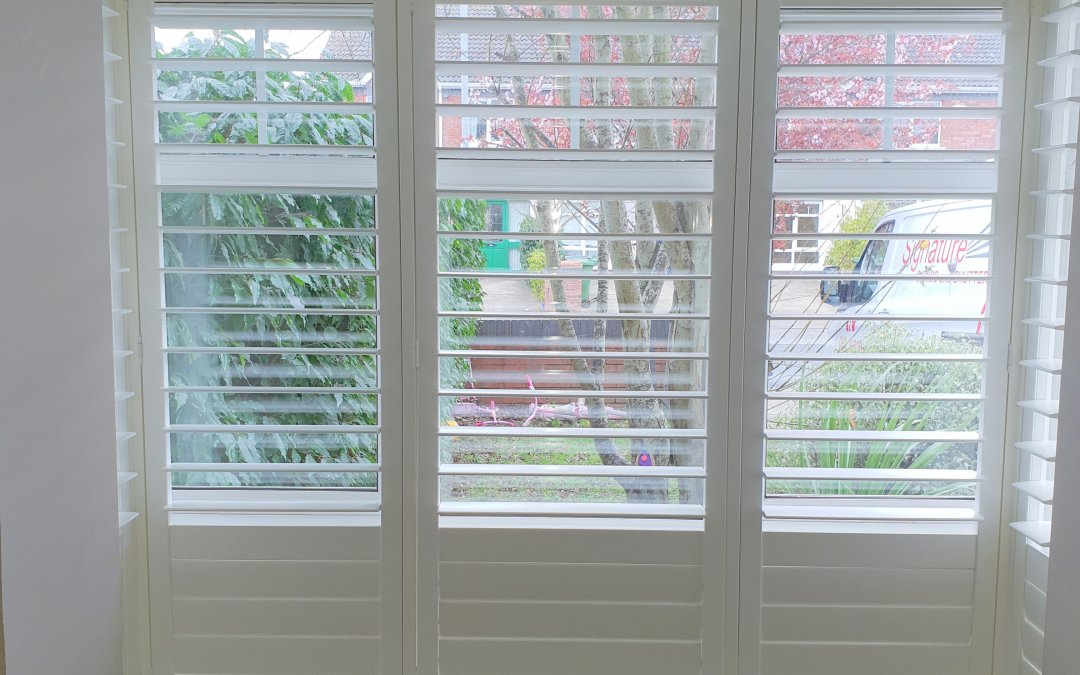 Plantation Shutters installed in Ongar, Dublin 15.