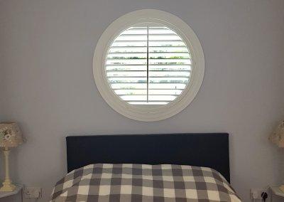 Circular Bedroom Shutter