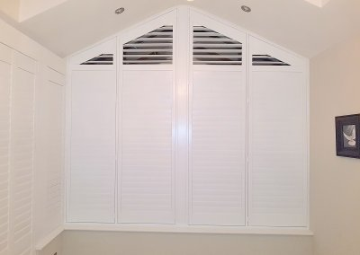 Triangular Arched Shutter