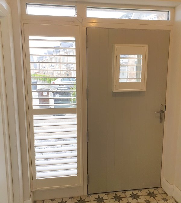 Stunning Large Plantation Shutters installed in Blackrock, Co Louth