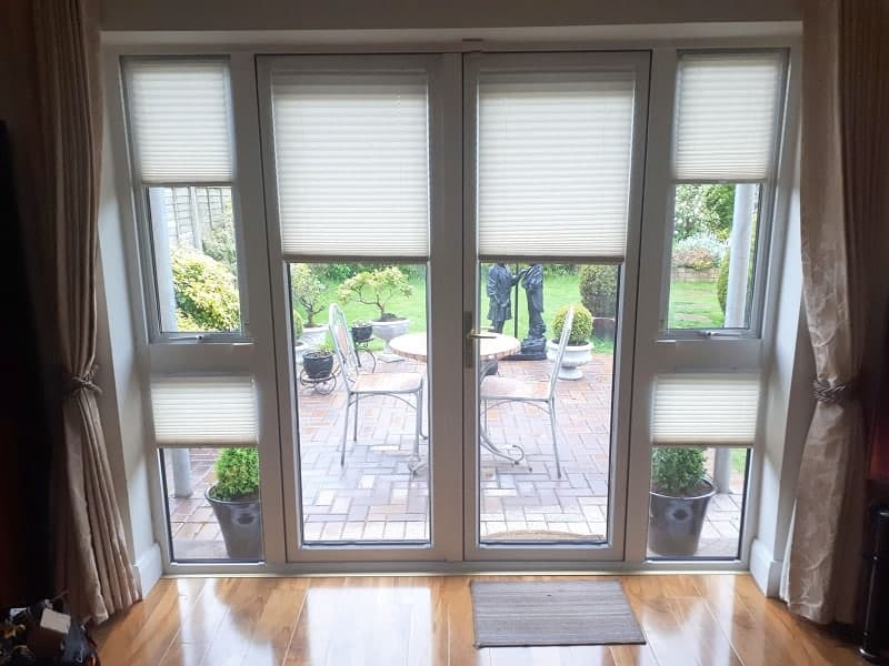 Pleated Blinds installed in Ratoath, Co Meath.