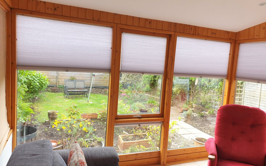 Pleated Blinds installed in Lucan, Co Dublin