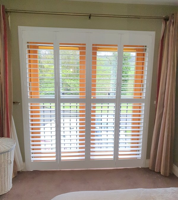 Full Height Plantation Shutters fitted in Blessington, Co Wicklow