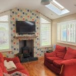 Unusual Plantation Shutters fitted in Athy, Kildare.